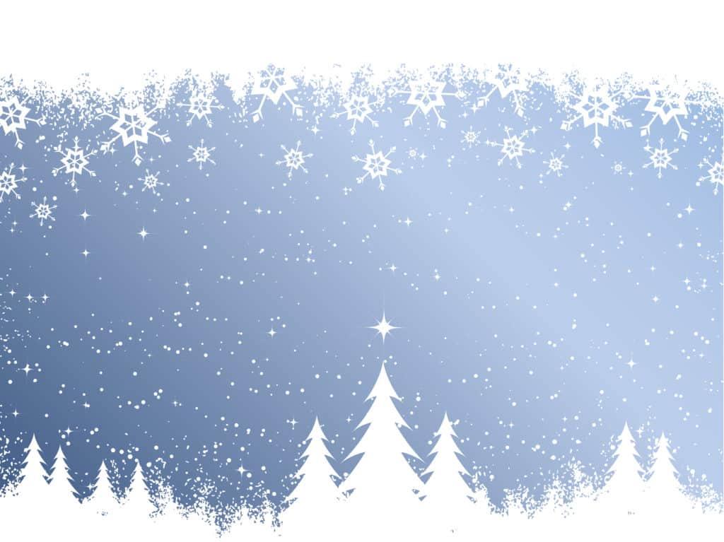 Vánoční pohled pro přidání vlastního textu.