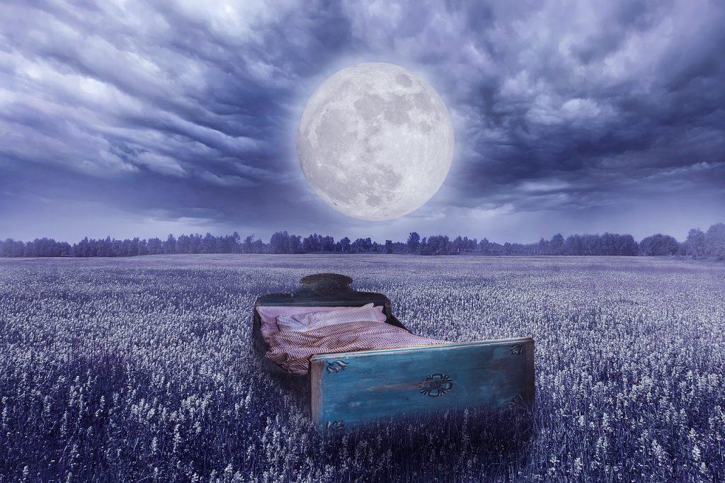 Blahopřání na dobrou noc pro vydatný spánek.