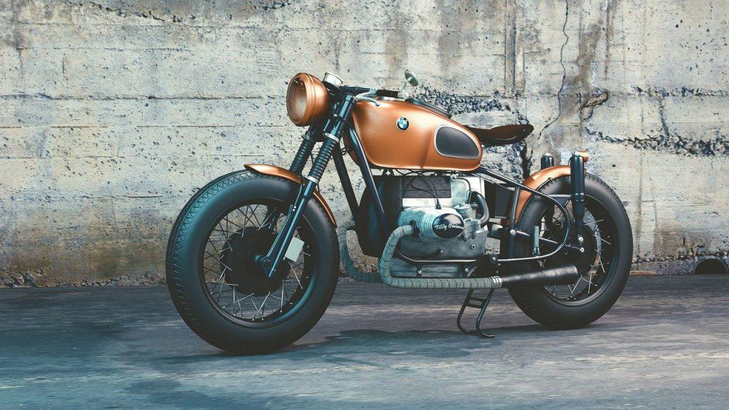 Krásná motorka na přání pro motorkáře.