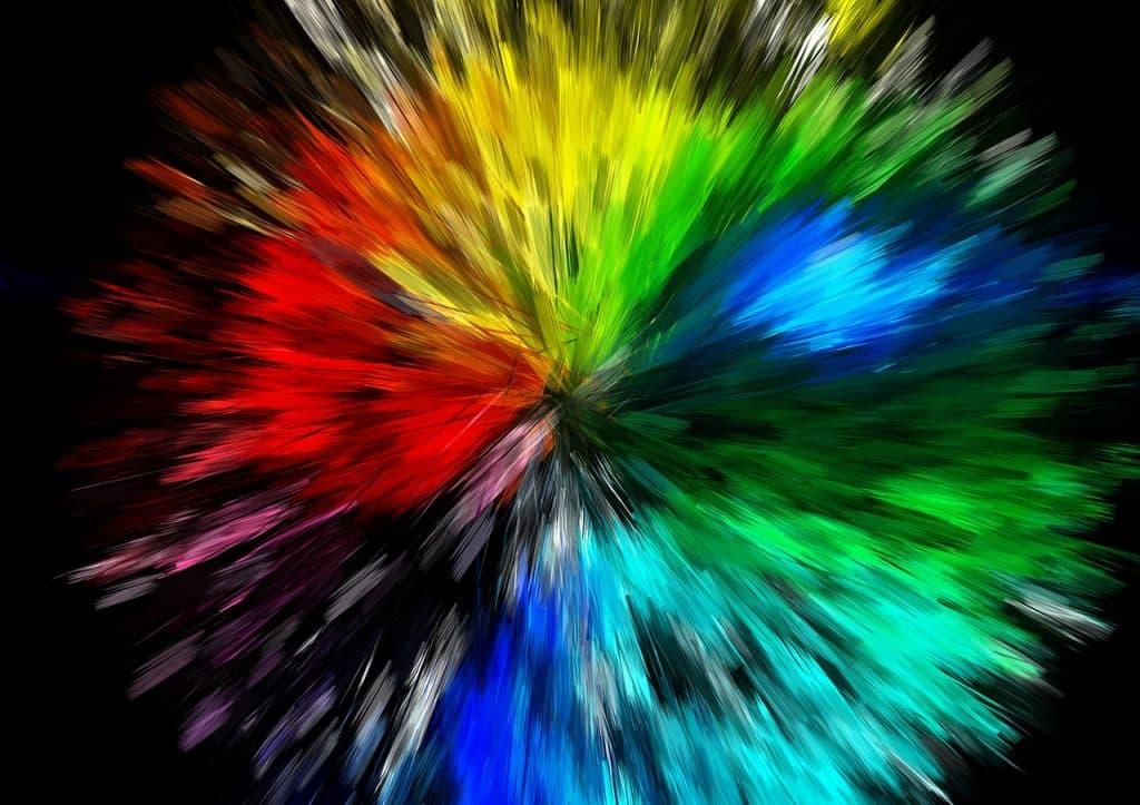 Obrázek s abstraktním motivem.