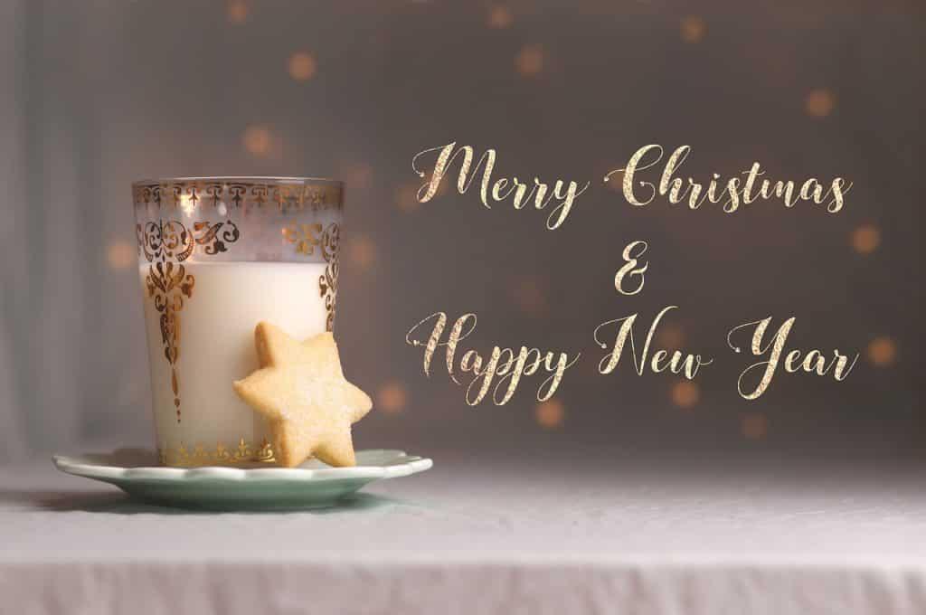 Obrázek s vánoční fotografií.