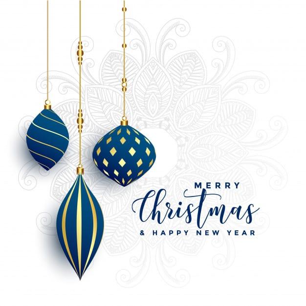 Pohlednice s přáním k Vánocům a do nového roku.