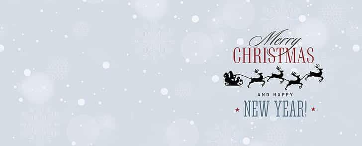 Obrázek na vánoční a novoroční přání.